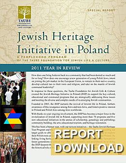 Jewish Heritage Initiative in Poland: Special Report